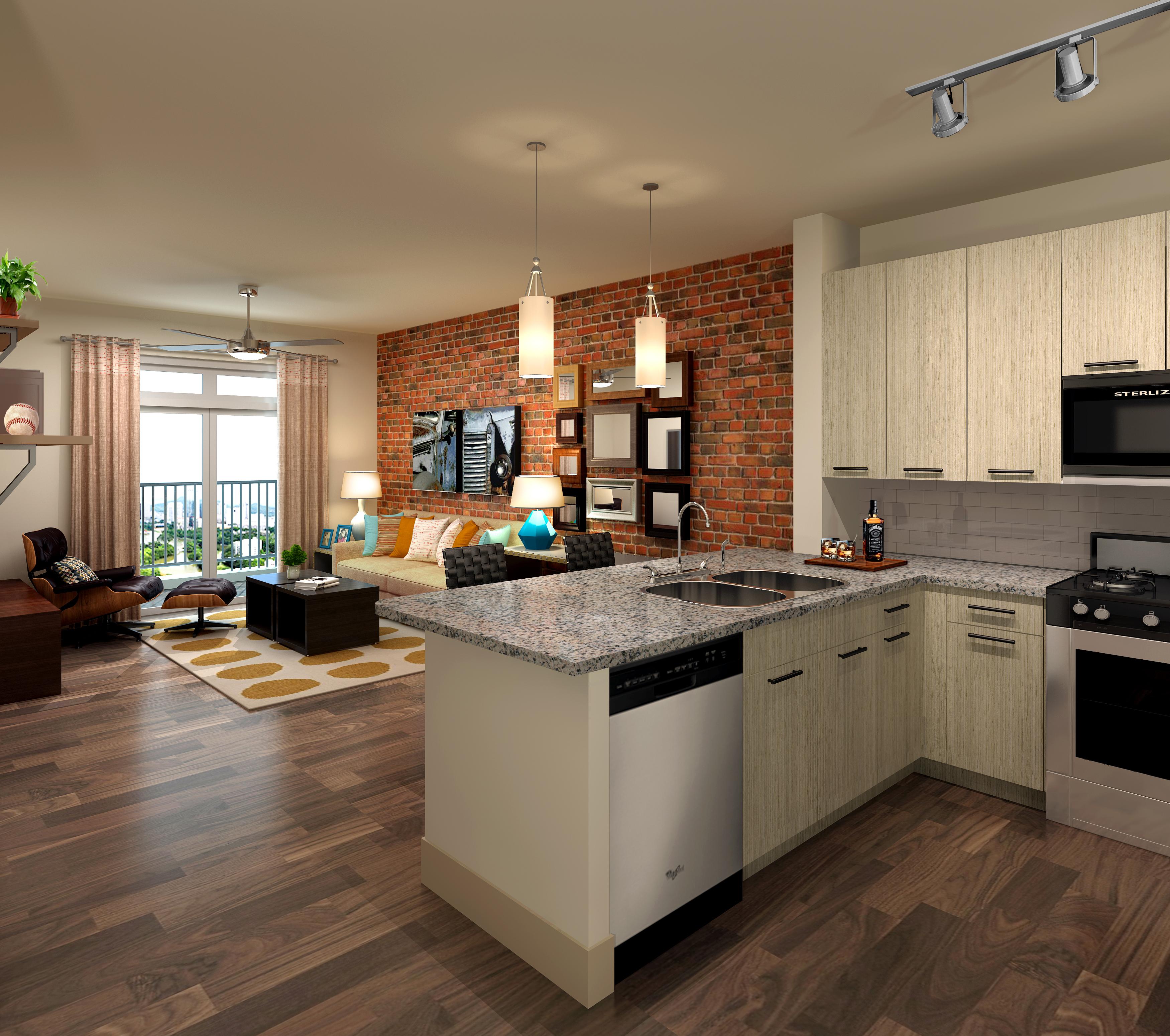 Model Apartments: BRACK: Luxury Apartment Complex Rising