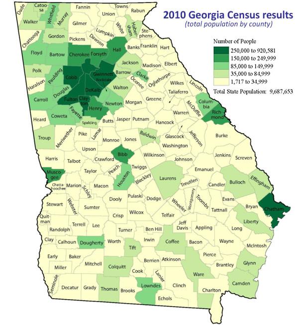 Gwinnett Forum Remembering Claude Sitton Georgias - Georgia map 2015