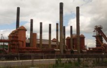 MYSTERY: Figure out where these nine smokestacks are located