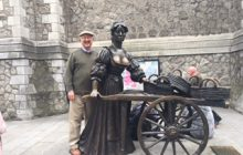 "Yep, here's your correspondent ""on location"" in Dublin last week with the most recent Mystery Photo."