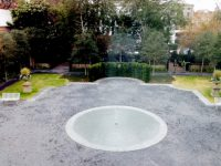 MYSTERY: Bubbling pool looks something like a labyrinth