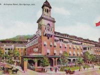 A 1924 postcard of the hotel.