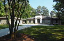The Sloan house.